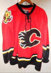 Calgary Flames CCM Jersey No Name Sz XXL