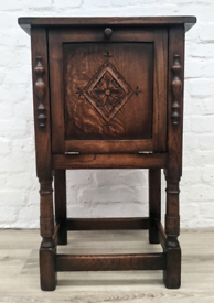 Oak Side Cabinet (DELIVERY AVAILABLE)