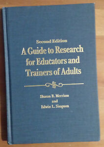 A Guide to Research for Educators and Trainers of Adults, 2nd Ed