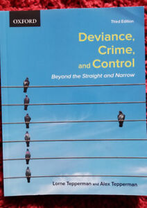 Deviance, Crime, and Control - Lorne and Alex Tepperman