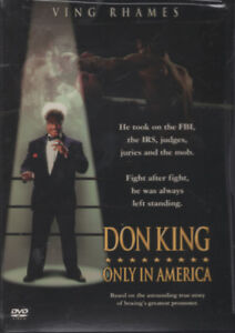 Don King: Only in America HBO Movie, Brand New and Sealed DVD!