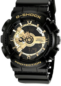 G-Shock Watch Black and Gold