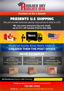 Cheap Shipping to the Us