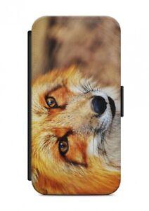 HTC-ONE-Fuchs-ANIMALE-CUSTODIA-FLIP-Case-Cover-Protezione-cellulare