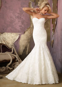 Mori Lee 1862 Mermaid Wedding Gown