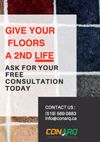 Give your floors a 2nd life. Ask for a free consultation today!