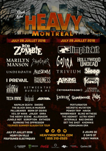 Heavy Montreal weekend pass
