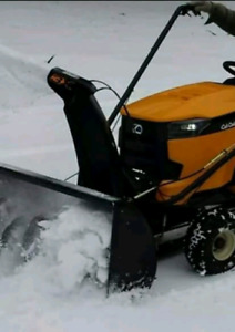 Cub Cadet 42 inch 3 stage snowblower attachment