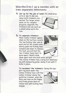 2-in-1 Combo Paper Trimmer St. John's Newfoundland image 4