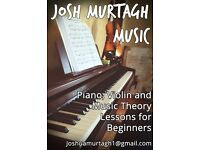 Piano, Violin and Music Theory Lessons