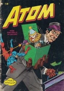 1971, ATOM, #1, 36 PAGES EN COULEUR