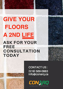 Give your floors a 2nd life. Ask for a free consultation today! Cambridge Kitchener Area image 1