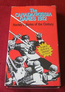 Hockey series of the Century--Canada/Russia 1972