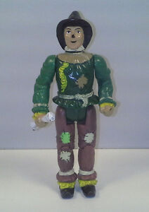 "1988 WIZZARD OF OZ SCARECROW 4"" ACTION FIGURE WELLAND"