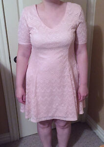 Pink Lace Dress (Worn Once)