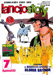 612-LANCIOSTORY-ed-Eura-1979-con-poster-Gloria-Gaynor-n-32-stato-Ottimo