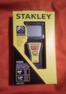 NEUF Stanley Mesureur de Distance au Laser TLM 65  Emballé
