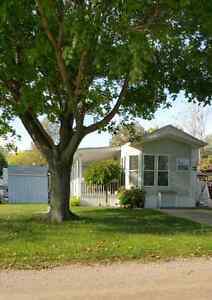 Wildwood By The Lake  Park Model Trailer & Lot with Shed