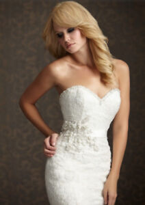 *PRICE DROP* NEVER WORN - ALLURE WEDDING GOWN STYLE 2501 SIZE 4
