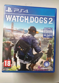 PS4 Watchdogs 2 video game