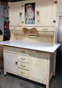 Rare Antique Bakers Hutch