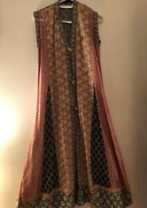 AMAZING PINK AND NAVY BLUE PAKISTANI/INDIAN DRESS 4 ANY OCCASION