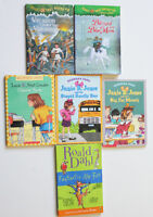 Lot of 7 books: Junie B Jones, Magic Tree House, Roald Dahl
