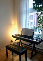 Piano Teacher in the Mile-End