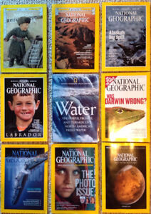 National Geographic Magazines from 1977 - 2016
