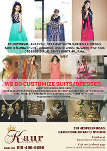 Indian clothing and jewellery