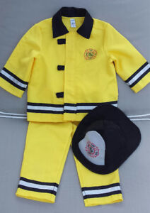 Fireman Halloween costume - toddler 12-24 months