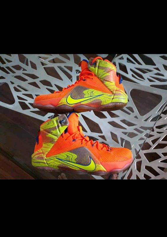 100% authentic 0dc83 734ff Nike Lebron XII 12 Six Meridians Men s Size 9