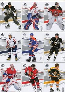 2014-15 SP AUTHENTIC 150-CARD BASE SET - GRETZKY CROSBY ORR