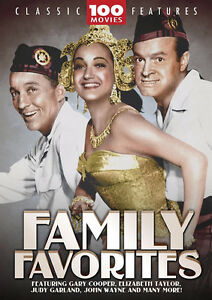 Family Favorites-100 Classic Movies on 24 dvds Box Set