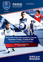 Summer Camp Paris Saint-Germain Academy Canada