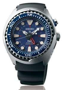 Seiko PADI Prospex Kinetic GMT Dual-Time Watch SUN065