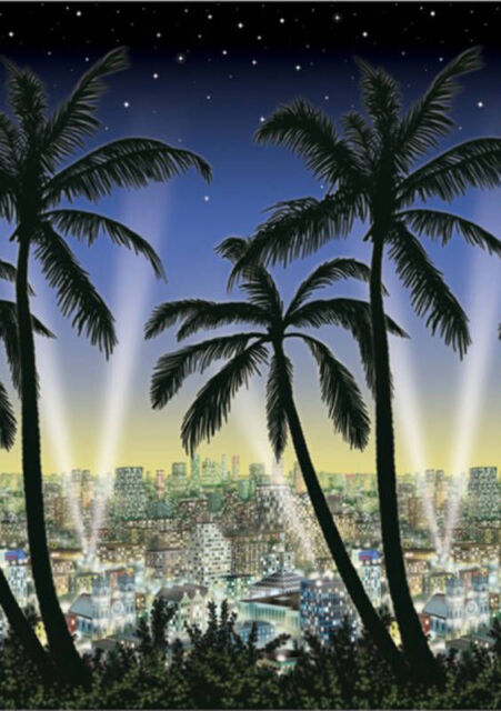 HOLLYWOOD City View Oscars Movie Party Decoration City scape in / ourdoors