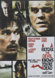 Before the Devil Knows You're Dead Phillip Seymour Hoffman DVD