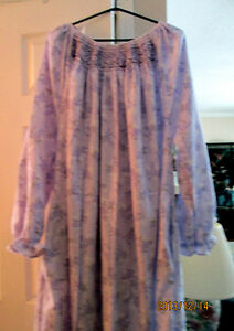 Hand Smocked Nightgowns (100% Cotton Flannel)