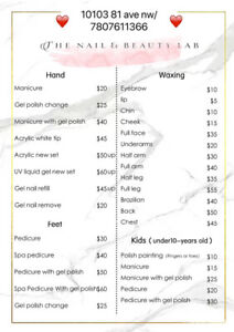 gel nails  find or advertise services in edmonton