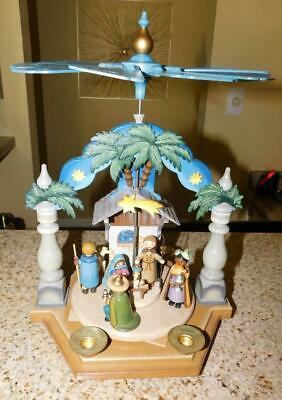 Geburt Christmas Pyramide Pyramid Hubrig Christian Birth - Beautiful and Rare