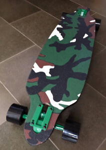 "Moose 36"" Camo Drop-thru Longboard BRAND NEW"