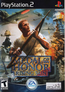 PS2 Medal of Honor: Rising Sun (Sony PlayStation 2, 2003) Game