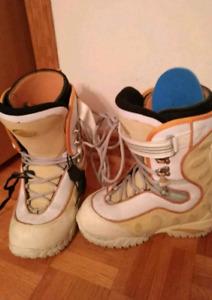 Airwalks snowboarding boots bottes pour planche à neige