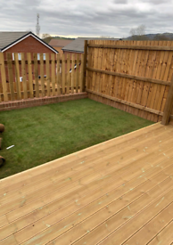 Gardening services, garden clearance, all decking and wood repair