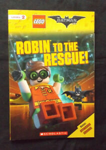 Lego Batman Movie | Robin to the Rescue! Early Reader Book