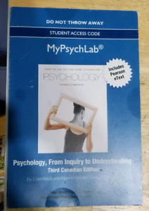 My Psych Lab Access Code
