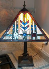 Tiffany style lamp from America