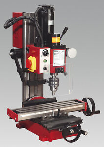 NEW! Bench Mounted  Mini Drilling & Milling Machine With Tilting Column 45°