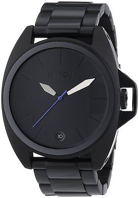 Nixon A396001 Anthem All Black Stainless Steel 43mm A396-001-00